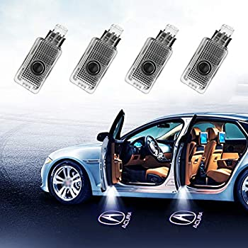 Amazon Com Klinee Acura Accessories Car Door Led Logo