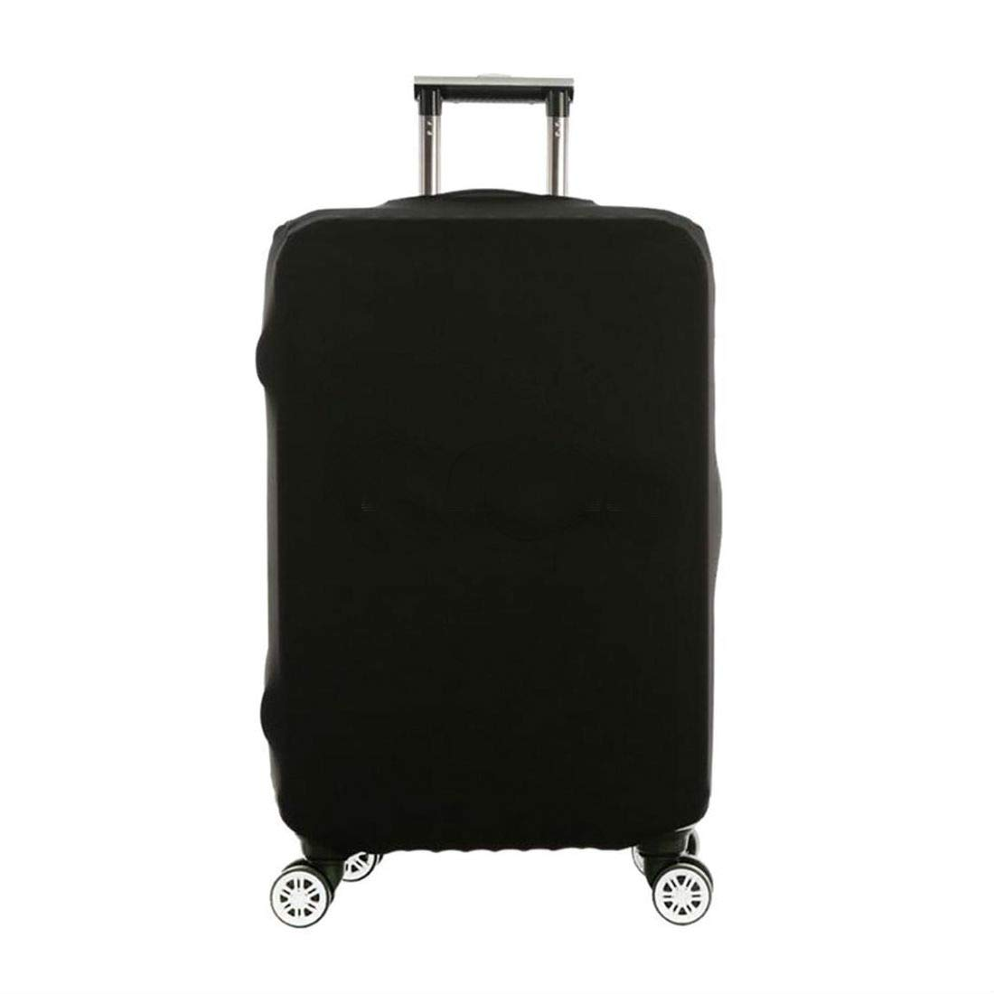 Black Elastic Luggage Suitcase Bags Cover Protector Anti scratch 18'' 20'' 22'' 24'' 28'' (M - (22''''-24'')) by Unknown