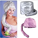 Comfort Home Portable Salon Hair Dryer Soft Hood Bonnet Attachment Hair care(2pcs/lot) by Bleiou