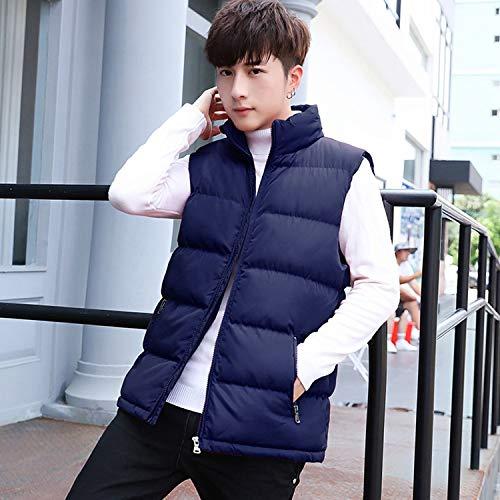 Vest Stand Cotton-Padded,Black,XL