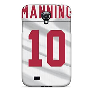 LisaSwinburnson Samsung Galaxy S4 Bumper Hard Phone Covers Allow Personal Design Nice New York Giants Pattern [PFM19988wEEI]