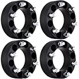 "ECCPP 2"" 50mm 6 Lug Wheel Spacer Adapters 6x5.5 to 6x5.5 (6x139.7) 14x1.5 Studs fits for 2003-2012 Cadillac Escalade Chevy Express Suburban Silverado GMC Sierra Savana 1500 Yukon(4X)"