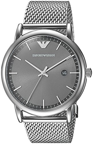 Emporio Armani Men's 'Dress' Quartz Stainless Steel Casual Watch, Color:Silver-Toned (Model: AR11069) Emporio Armani Model