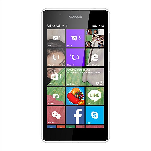 Microsoft Lumia 540  White, 8  GB