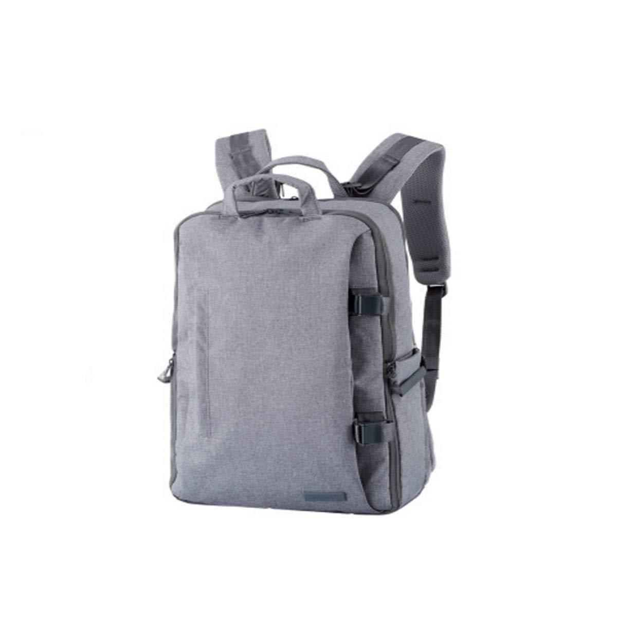 カメラバッグ、多機能カメラバックパック、防水ノートブックカメラ収納バッグ、ブラック (Color : Gray 1)   B07R4WRVCQ