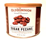 Old Dominion Burnt Sugar Pecans, 9oz Canister.