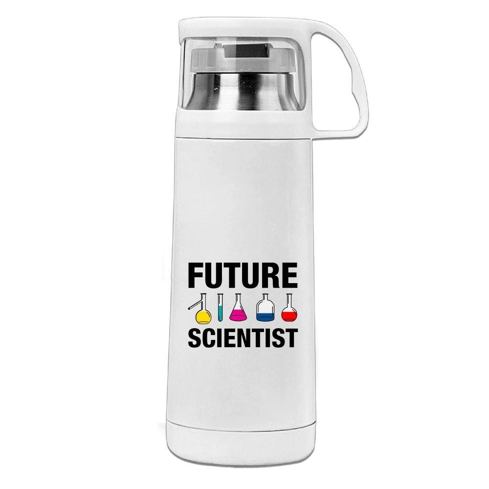 kkajjhd Future Scientist真空断熱ステンレススチールウォーターボトル B07F9LK8NP