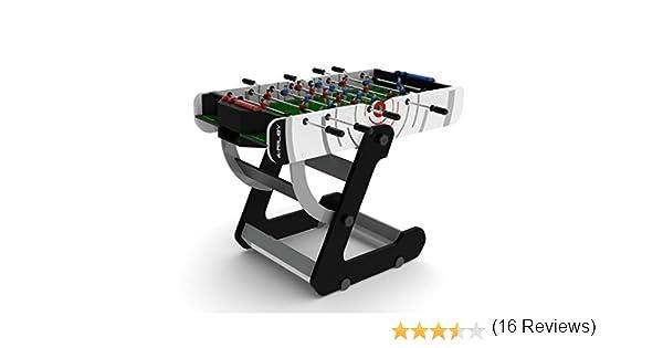 Riley VR-90 4 de los Hombres Plegable Mesa de fútbol, Blanco, 4 ft: Amazon.es: Deportes y aire libre