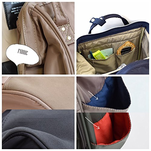 Anello Nylon Jaw Zipper Backpack