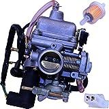 Carburetor for GY6 Vento Phantom R4i 125, 150 Scooters Honda OEM 16100-KJ9-673