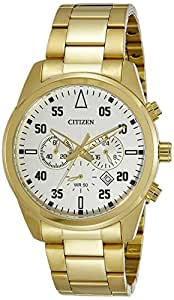 Citizen Casual Watch For Men Analog Stainless Steel - AN8092-51P