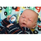 Baby BOY cute Preemie Life Like Reborn Pacifier original Doll + Extras accessories / Mon bébé garçon mignon de poupée originale Preemie Lifelike Reborn Pacifier + accessoires Extras