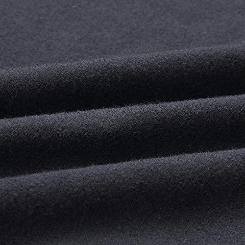 Couleur Noir Ceinture Longues Longue Decontractee Porter En Cardigan Vestes A Mode Toogoo Chaud Veste Dames Revers Unie Dehors Manteau S Feminine Manches Automne fqnxF1xY6w