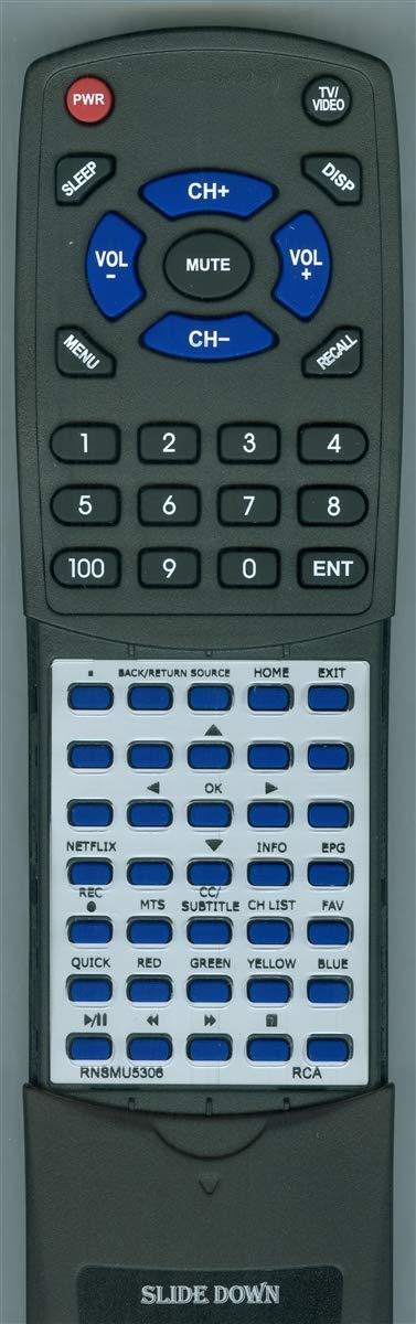 交換用リモコン RCA RNSMU4336 RNSMU5306 RNSMU5536 RNSMU6036 RNSMU6536 RNSMU7036用 B07NBYP55D