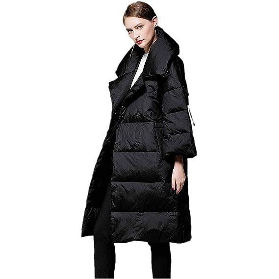 magasins populaires meilleur prix pour Style magnifique YZ-HOD Doudoune Femme Hiver Nouvelle Longue et Large Revers ...