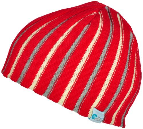 30c0373a083 Alki i Ribbed heavy gauge mens womens warm beanie snowboarding winter hats  - Red