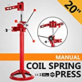 Mophorn Auto Spring Compressor Hand Operate 20 Inch Max. Spring Height Strut Coil Spring Press Compressor Auto Equipment Car Repairing Spring