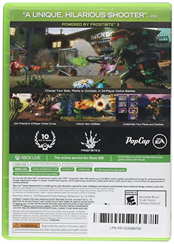 Plants vs Zombies Garden Warfare(Online Play Required) – Xbox 360