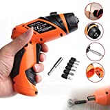 Delight eShop Mini Portable 6V Screwdriver Electric Drill Battery Operated Cordless Wireless