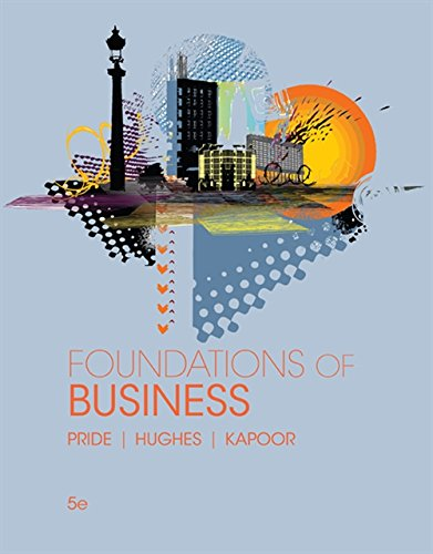 Foundations of Business Standalone Book MindTap Course List