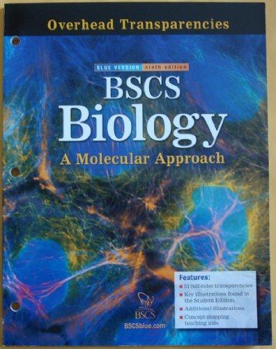 Bscs Biology: Overhead Transparencies