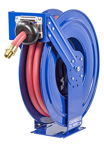 Coxreels TSHF-N-635 Supreme Duty Spring Rewind Hose Reel for fuel: 1'' I.D., 35' fuel hose, 300 PSI by Coxreels