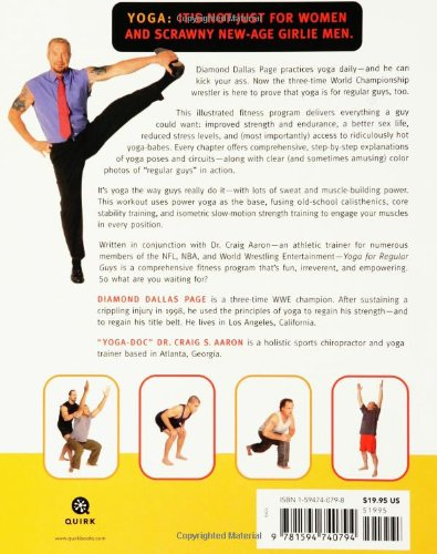 Yoga For Regular Guys The Best Damn Workout On Planet Diamond Dallas Page Rob Zombie Craig Aaron 9781594740794 Amazon Books