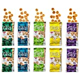 10 Pack Assortment Bundle: Keto Snack, Just the Cheese Minis, 100% Cheese, Low Carb, High Protein, Gluten Free, Fully Baked, Specialty Cheese