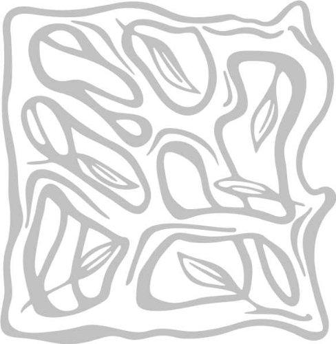 WANDTATTOO / Wandaufkleber - e72 schöne Blätter 120x116 cm - glasdekor