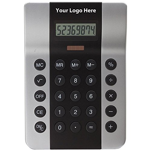 Desktop Calculator - 50 Quantity - $10.70 Each - PROMOTIONAL PRODUCT / BULK / BRANDED with YOUR LOGO / CUSTOMIZED by Sunrise Identity