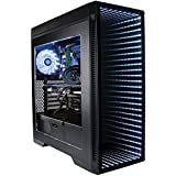 CUK Continuum Gamer PC (Intel i7-8700K with Liquid Cooling, 16GB RAM, 500GB SSD, NVIDIA GeForce RTX 2080 8GB, 600W Gold PSU, Windows 10 Home) VR Ready Gaming Desktop Computer