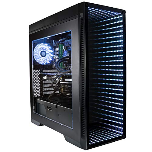 CUK Continuum CAD Engineering Workstation (Liquid Cooled Intel i9-9980XE, 64GB RAM, 500GB NVMe + 2TB HDD, NVIDIA GeForce RTX 2080, 750W Gold PSU, Windows 10) Professional Editing Desktop - Extreme Series Intel