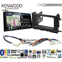 Volunteer Audio Kenwood Excelon DNX994S Double Din Radio Install Kit with GPS Navigation Apple CarPlay Android Auto Fits 2014-2015 Toyota Highlander