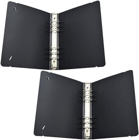 Amazon.com: A5-6 Cubierta para carpeta de anillas: Office ...