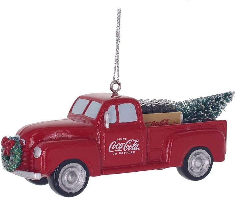 Kurt Adler Coca Cola Truck Ornament 1.3 Inches Tall