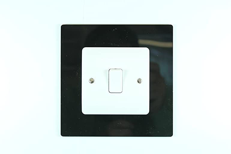 classikool plug socket u0026 light switch surrounds 9 colour choices free uk post black single socket surround light switch surround amazoncouk