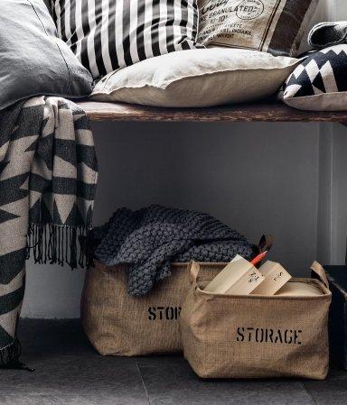 Cute storage totes farmhouse style storage totes organizing ideas