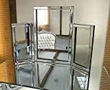 Dressing Table Mirror Modern Clear Venetian Tri-Fold Free Standing Bedroom Kelsey Stores ltd by Kelsey Stores