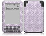 Wavey Lavender - Decal Style Skin fits Amazon Kindle 3 Keyboard (with 6 inch display)