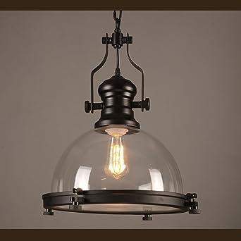 retro pendant lighting. Industrial Nautical Glass Pendant Light, MKLOT 12.20\u0026quot; Wide Retro Vintage Lighting Hanging Fixture N