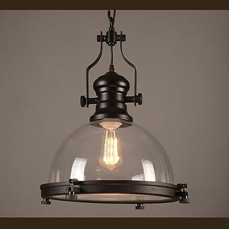 industrial nautical glass pendant light mklot 12 20 wide retro