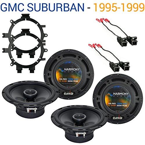 2000 chevy suburban speaker size