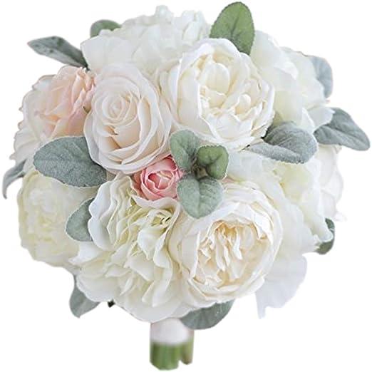 Amazon Com Iffo Bridal Bouquet Wedding Bridal Bouquet Fresh