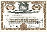 Aviation Corporation - Stock Certificate