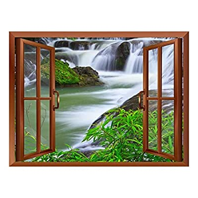 Waterfall in National Park of Thailand Removable Wall...24