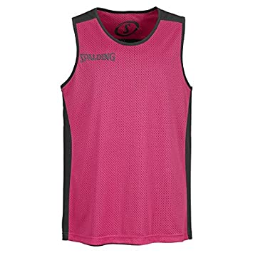 bad38a47fd3d SPALDING - ESSENTIAL MAILLOT REVERSIBLE - Maillot de Basket - Maillot  reversible - Confort Maximal -