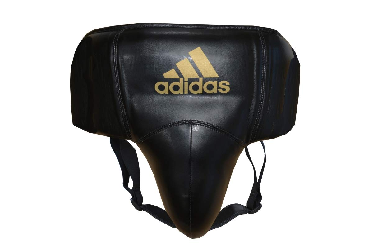 adidas Boxing Martial Arts TKD Men/'s Leather Groin Cup Protector