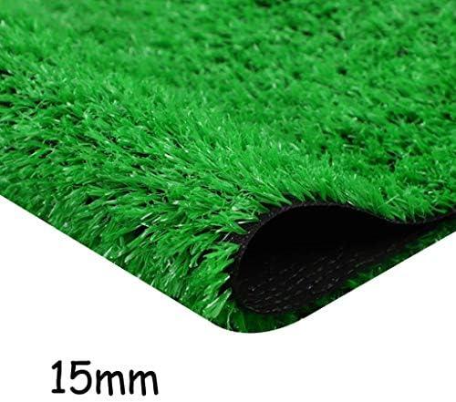 XEWNEG 15ミリメートル多機能人工芝、ホームストア屋根ウォールデコレーショングリーンの人工芝ターフのために、防水ノンスリップ、簡単にきれいな、幅2メートル (Size : 2x18M)