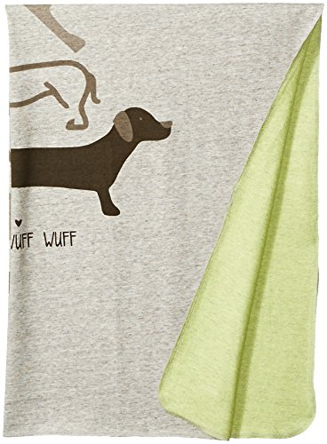 (Robeez Baby Blanket, Dogs-Heather Grey, One Size)