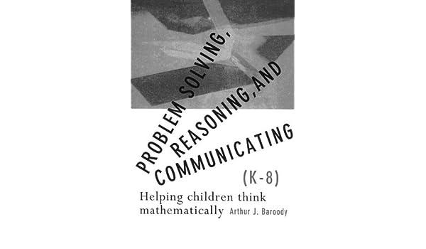 problem solving reasoning and communicating baroody